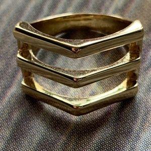 "Premier Designs ""Ultramodern"" Ring Size 9"